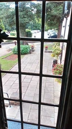 Llangybi, UK: View from room
