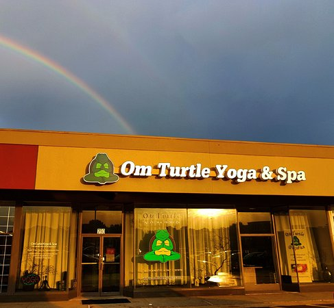 Florissant, MO: The rainbow ends at OmTurtleYoga & Spa!
