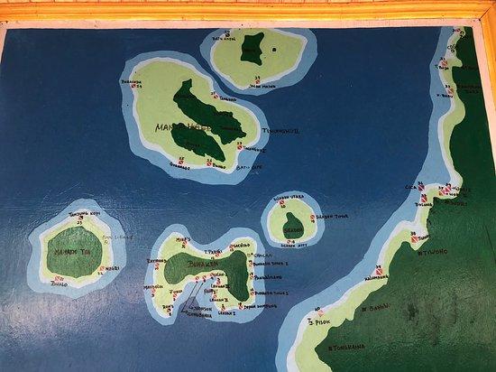 Остров Силаден, Индонезия: map