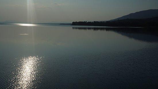 Agrinio, Grecia: Λίμνη