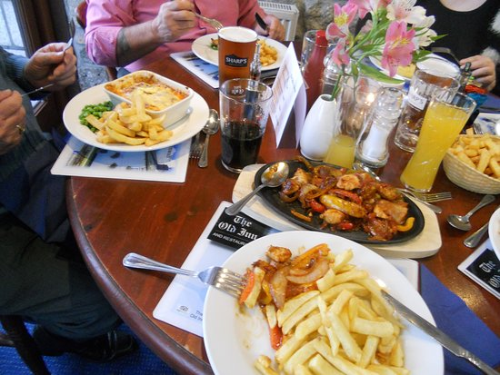 St. Breward, UK: Very Large Portions, at a fair price