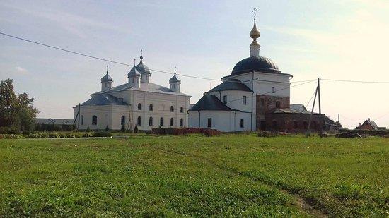 Kaluga Oblast, Russia: монастырь