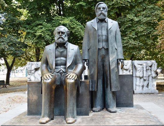 Marx-Engels-Forum: Marx and Engels