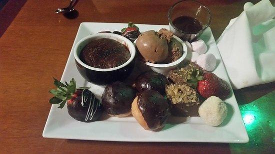 Lamington National Park, Australia: Chocolate Indulgence