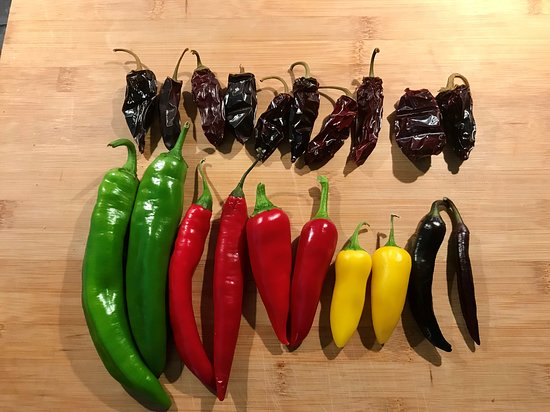Chawston, UK: Pick your own Chillies, 10 for £2. we got 10 smoked Chipotle too