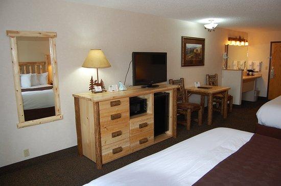 Kelly Inn West Yellowstone : Guest room