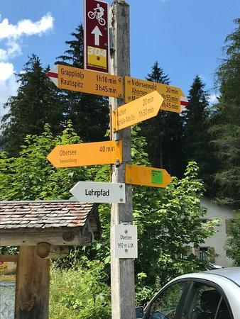 Nafels, Swiss: Wandermöglichkeiten