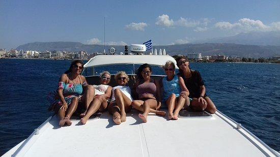 Platanias, Grecia: Stop at Lazaretta island