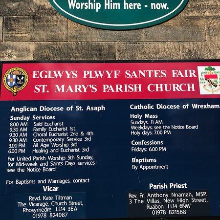 Ruabon, UK: St Mary's Shared Church