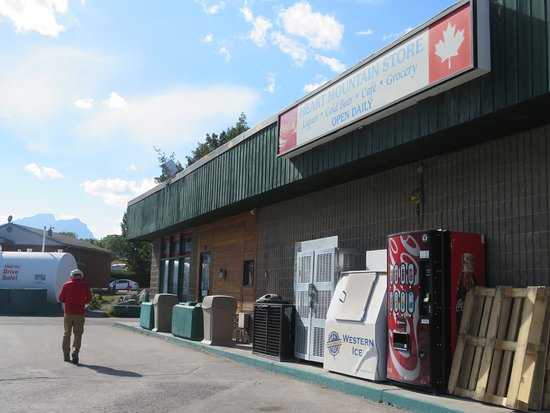 Exshaw, Καναδάς: Exterior