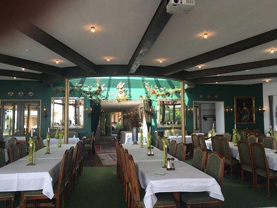 Seebruck, ألمانيا: Großer Speisesall innen