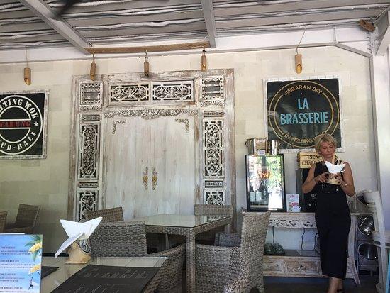 La Brasserie: La très chaleureuse chef