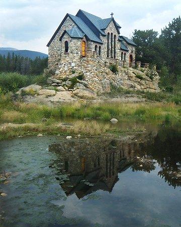 Allenspark, Colorado: St Malo's Chapel on the Rock, near Allen's Park, Colorado