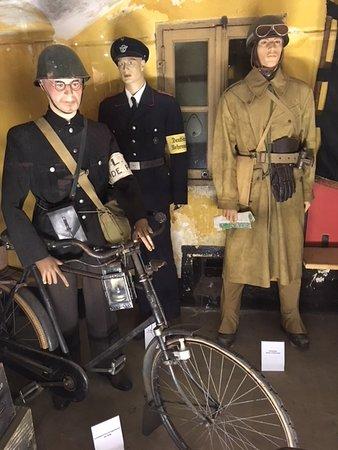 Westbeemster, Nederland: In het museum een impressie uit die tijd