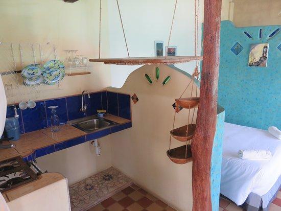 La Casa del Lago Lodging House: Küche