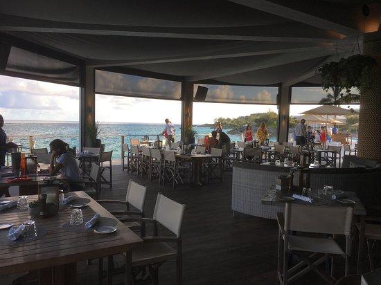 Tucker's Town, Islas Bermudas: the Pink Beach Club restaurant