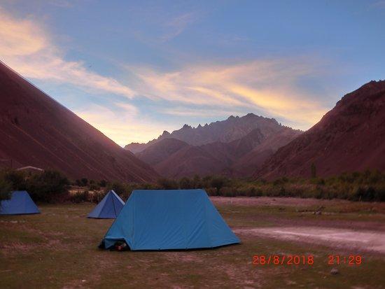 Leh District, Индия: Campsite