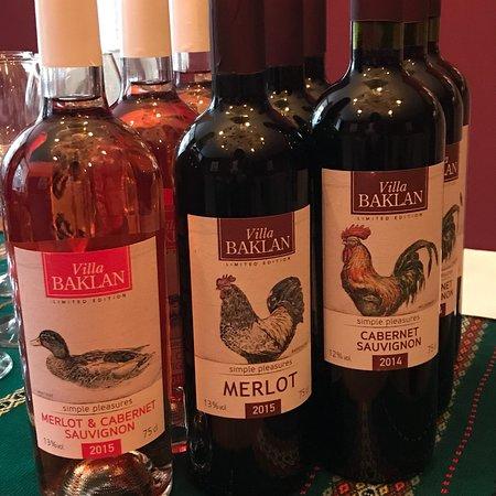 Дегустация болгарских вин