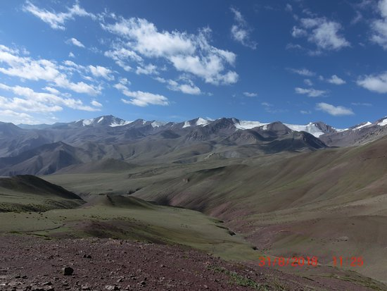 Leh District, Индия: Scenery along the way