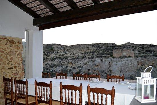 Vista del sal n comedor picture of restaurante thermae - Banos de mula el pozo ...