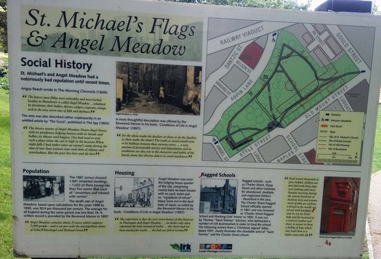 St. Michael's Flags and Angel Meadow Park - NOMA