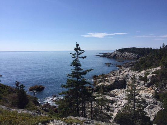 Isle Au Haut, ME: Vantage from Goat Trail (I think)