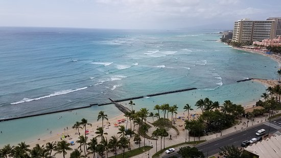 View From Room Balcony Picture Of Waikiki Beach Marriott