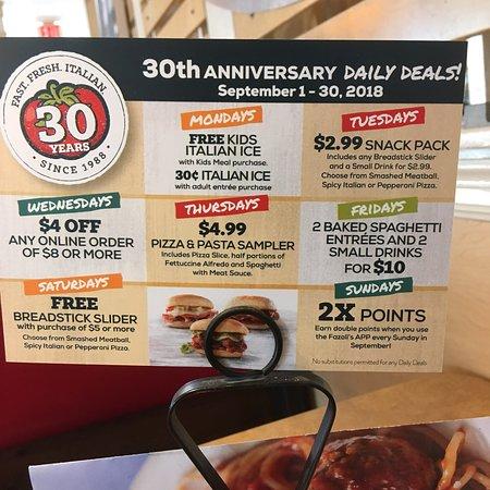 Fazoli S Des Moines 3600 Merle Hay Rd Restaurant