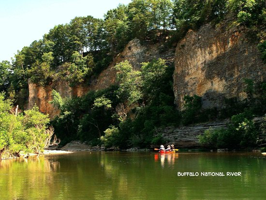 Gilbert, Арканзас: Canoeing on the Buffalo National River