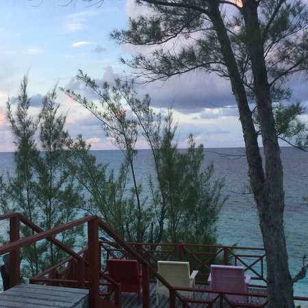 North Palmetto Point, Eleuthera: View from the restaurant