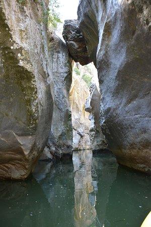 San Mauro Castelverde, Italie : Gole di Tiberio