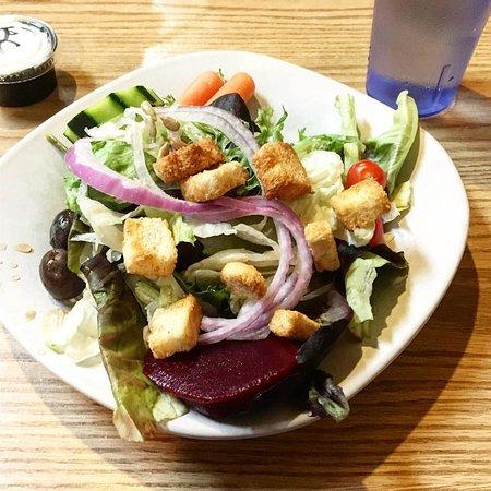 Melrose, Монтана: Garden salad