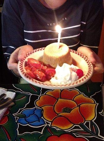 Brilliant Free Birthday Cake Picture Of Red Iguana Salt Lake City Funny Birthday Cards Online Inifofree Goldxyz