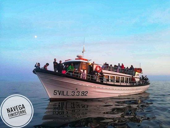 Cape Finisterre, Spanien: Barco de pasaje