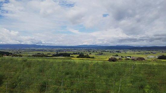 Kitakata, Ιαπωνία: 201808のどかな田園風景