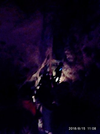 The Cango Caves: On the way out.