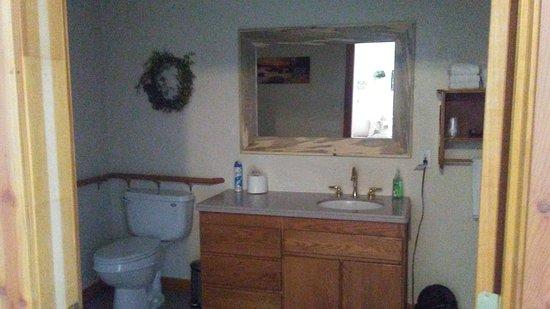 Cascade, Idaho: Bathroom