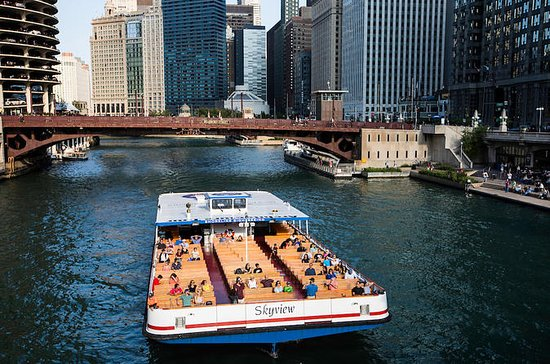 Chicago Architecture 75-Minute River Cruise Guided Tour
