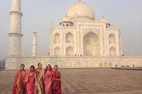 Excursion à Agra (Taj mahal) le jour...
