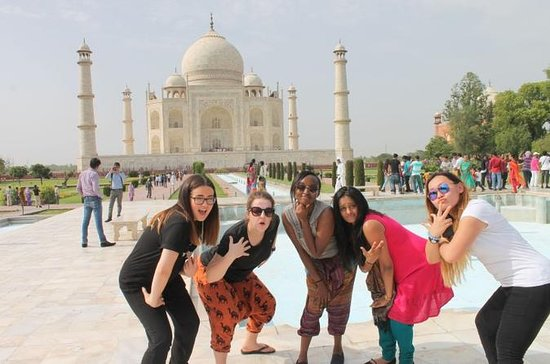 Taj Mahal Day Trip from Delhi Ending in...
