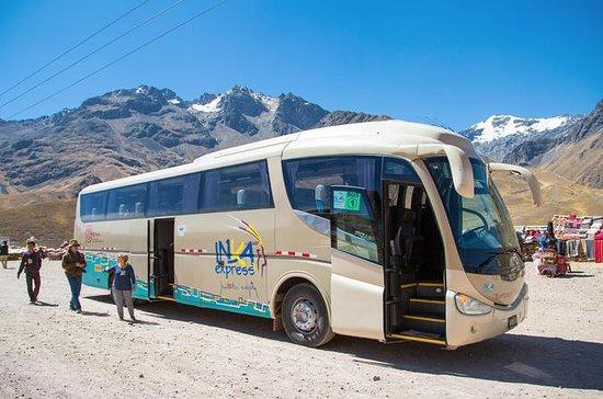 Cusco a Puno Transporte de autobús...