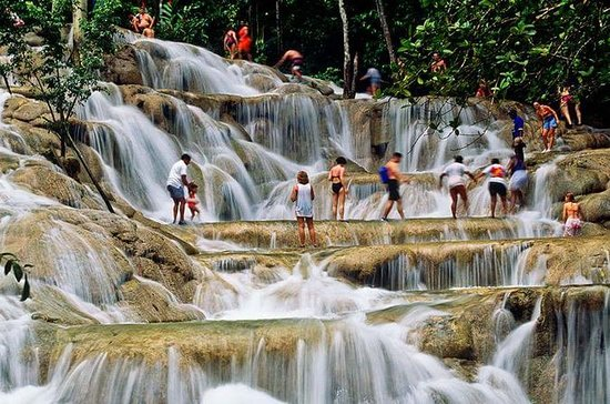 Dunns River Falls and River Rapids...