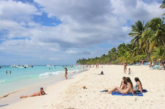 Saona Island Beach Day Tour fra Punta...