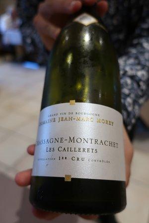 Montbellet, France: ワインペアリング