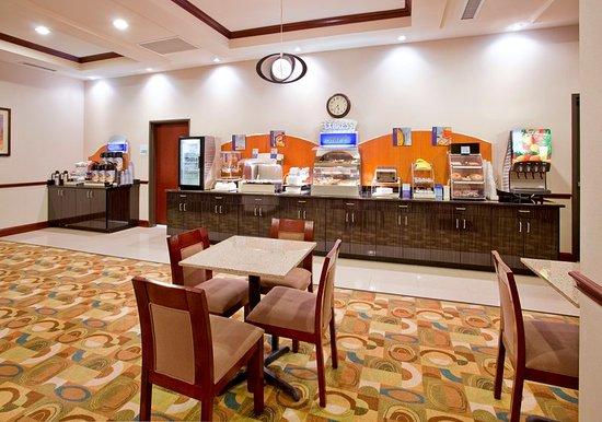 Holiday Inn Express Hotel & Suites Guthrie-North Edmond: Restaurant