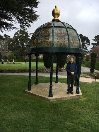 Larnach Castle & Gardens: Garden cupola