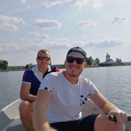 Вид на монастырь с озера