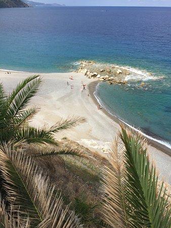 Spiaggia di Gioiosa Marea: Vista dall'alto