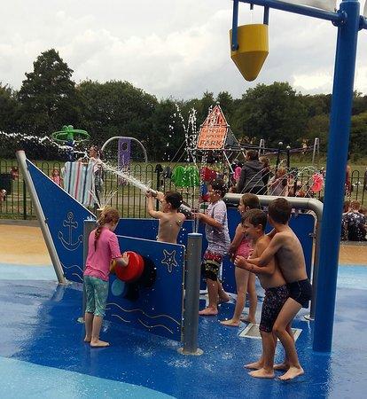 water play at Langold