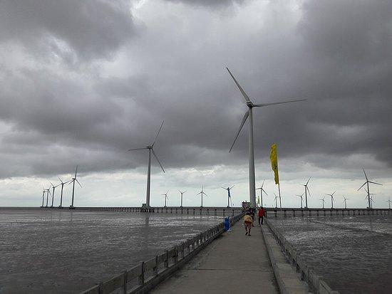 Bac Lieu Windpower Farm, Xã Vĩnh Trạch Đông
